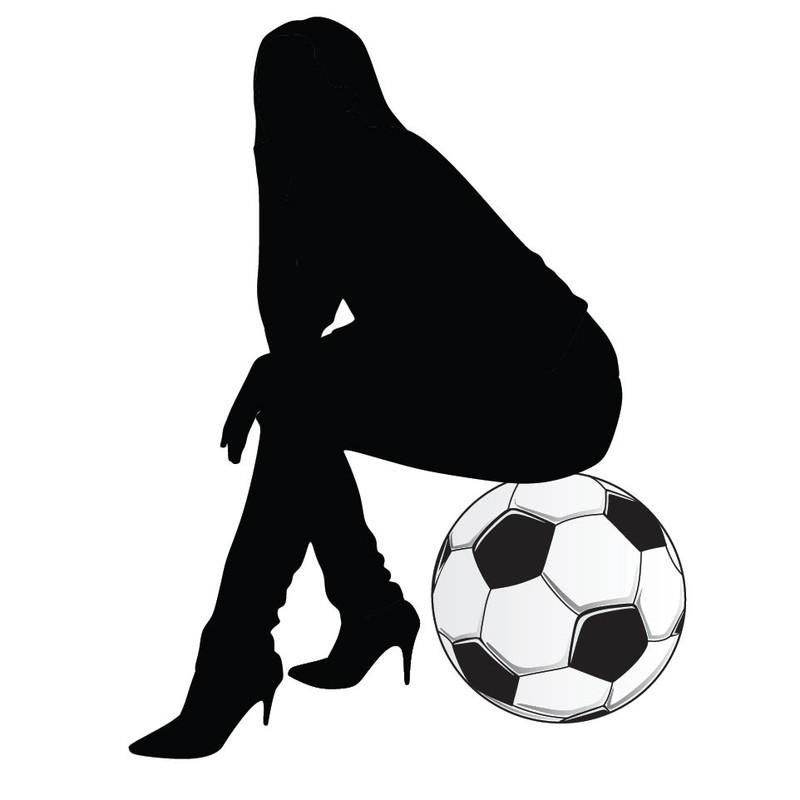 女性にも人気のサッカー